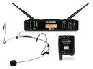 XD-V75 Headset, Transmitter and Receiver