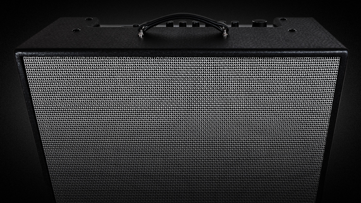 Product shot FIrehawk 1500 by Line 6 is a full range stage amp with amp, cab and effects modeling
