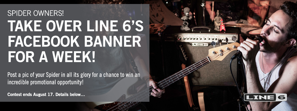 line 6 spider competition takeover facebook