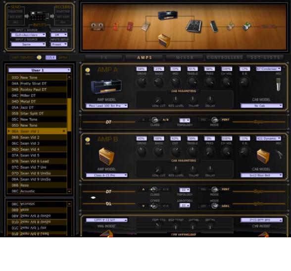 Line 6 POD HD500X guitar effects processor HD Edit software