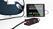 Line 6 Sonic Port VX audio recording interface plugged into Mobile POD
