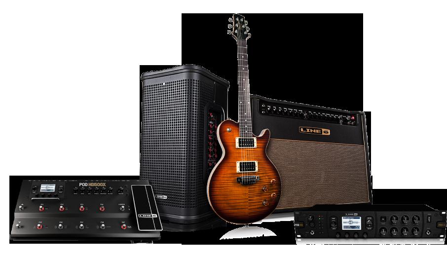 Line 6 POD HD500X guitar effects processor Dreamrig