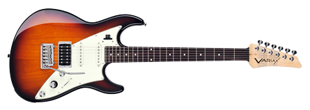 Three-Tone Sunburst
