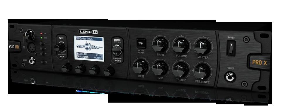 Line 6 POD HD500X guitar effects processor rack mount