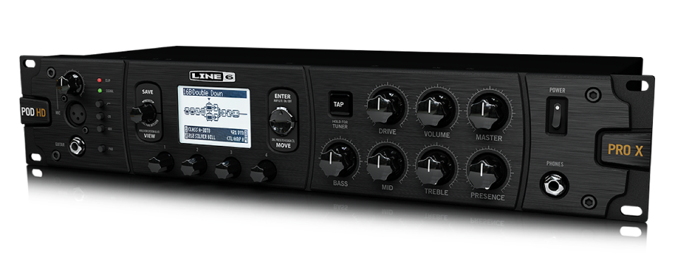 Line 6 POD HD500X guitar effects processor rack mount