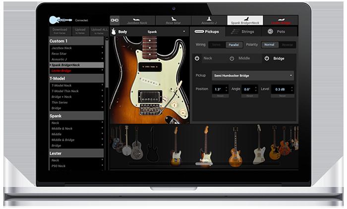 Line 6 James Tyler Variax modeling guitar workbench software