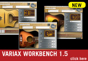 Variax® Workbench 1.5 for Electric and Acoustic is here!