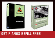 Buy Reason® 4 and Get Reason® Pianos ReFill free! A $129 value!