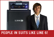 People In Suits Think Line 6 Is Cool! Thanks, People in Suits!
