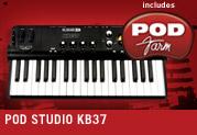 POD Studio™ KB37、ただ今発売中!