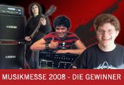 MusikMesse 2008 - die Gewinner