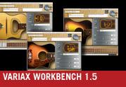 Variax® Workbench 1.5 est maintenant disponible pour les guitares électriques et acoustiques !