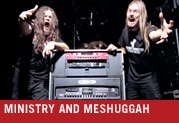 Ministry and Meshuggah: Two Power Bands with Line 6 Amps On Tour Across America