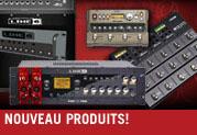 Line 6 dévoile ses nouveaux équipements de studio et de scène pour guitare et basse