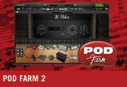Now Available: POD Farm 2 Plug-in for Line 6 Hardware and iLok!