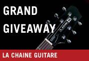 Giveaway - La chaine Guitare