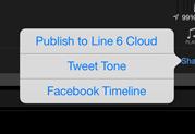 Line 6がAMPLIFi Remote v1.1をリリース – Facebook/Twitterを統合