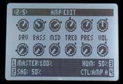 Nouveautés de l'amplificateur POD HD – Utilisation des paramètres 'Sag', 'Bias' et 'Bias Excursion'