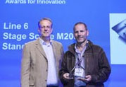 Line 6 remporte un prix prestigieux récompensant l'innovation pro audio