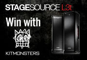 Win a StageSource speaker setup with Kitmonsters!
