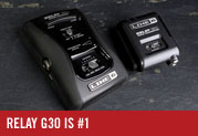 Relay G30 is the Best-selling Guitar Wireless in the US!