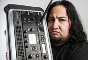 Fear Factory's Dino Cazares Gets Heavy Tone while Traveling Light with Line 6