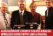 Albuquerque Church Solves Analog Wireless Issues with Line 6 Digital