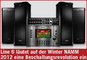 Line 6 läutet auf der Winter NAMM 2012 eine Beschallungsrevolution ein