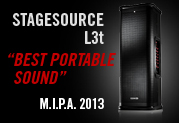 Stagesource L3t - M.I.P.A. Award winner for