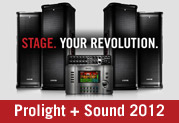 Line 6 at Pro Light and Sound 2012