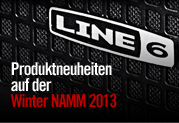 Neue Produkte auf der Winter NAMM 2013