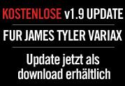 Gratis V1.9-Update für die James Tyler Variax-Gitarren