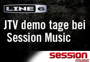Line 6 und James Tyler Variax Demo-Tage bei Session Music